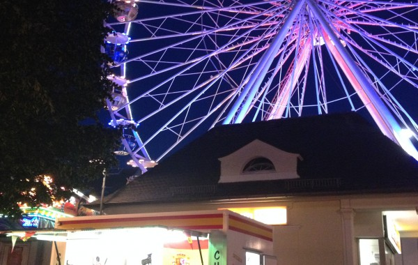 Dürpelfest bei Nacht in Solingen-Ohligs